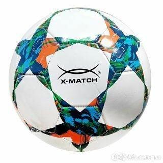 Мяч футбольный X-Match, 2 слоя PVC по цене 380₽ - Настольные игры, фото 0