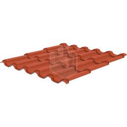 Кровля и водосток - Металлочерепица Арарат RAL8004 Терракотовый 0,45мм, 0
