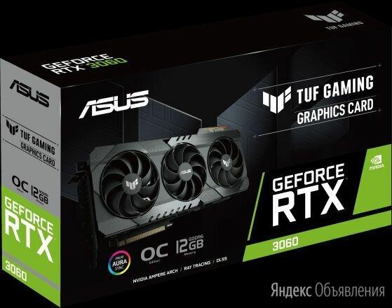 Видеокарта PCI-E GeForce RTX 3060 12Gb ASUS DUAL LHR по цене 74500₽ - Видеокарты, фото 0