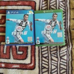 Игры для приставок и ПК - Fifa 19 Xbox One Fifa 19 PS4, 0