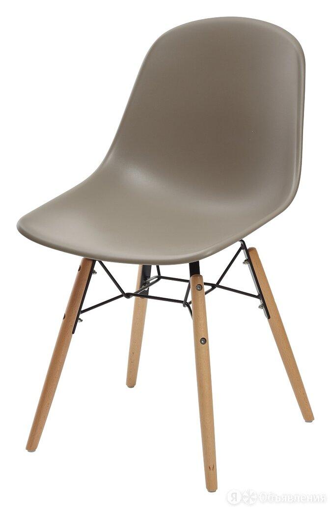 Стул BONNIE 292-DPP темно-серый с деревянными ножками М-City по цене 3735₽ - Кресла и стулья, фото 0