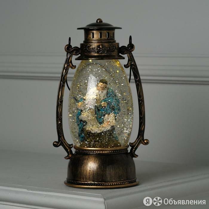 Фигура световая фонарик 'Рождение Христа', 25х10х10 см, от бат. 2хААА(не в ко... по цене 2873₽ - Новогодние фигурки и сувениры, фото 0
