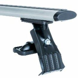 Перевозка багажа - Багажники на гладкую крышу (крепление за дверной проем) крыловидные дуги, 0