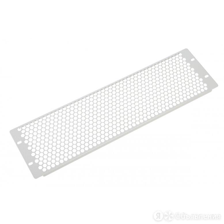Перфорированная фальшпанель в шкаф ЦМО ФП-3.4-9005 по цене 620₽ - Комплектующие, фото 0