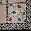 Скатерть цветной лён, коклюшечное кружево, 115х145 по цене 950₽ - Скатерти и салфетки, фото 5