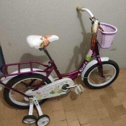 Велосипеды - Детский велосипед для девочки, 0
