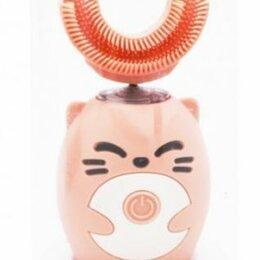Средства для интимной гигиены - Детская автоматическая ультразвуковая щетка-капа Smart U-shaped Children Toot..., 0