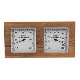 Термометры и таймеры - Термогигрометр квадратный, 0