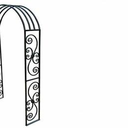 Аксессуары для садовой мебели - Пергола металлическая кованая П-3, 0