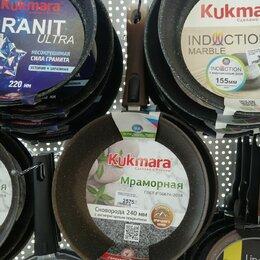 Сковороды и сотейники - Сковорода Kukmara Кофейный мрамор со съемной ручкой, 0