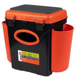 Клетки и домики - Ящик зимний FishBox односекционный (10л) оранжевый Helios, 0