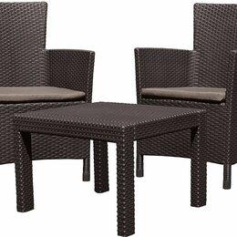 Комплекты садовой мебели - Комплект мебели Розарио балкон (Rosario balcony set) коричневый, 0