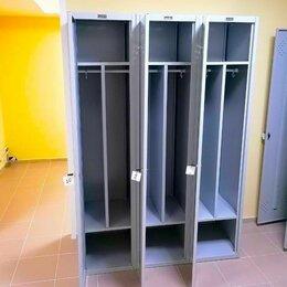 Мебель для учреждений - Шкафы металлические для раздевалок, 0