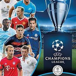 Спортивные карточки и программки - Лига Чемпионов уефа 2015-16. Наклейки Topps, 0