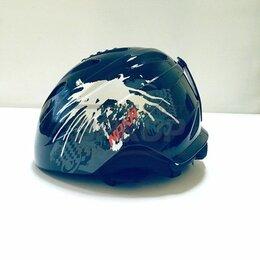Шлемы - Шлем горнолыжный Naxa чёрно-серо-красн (х3), 0