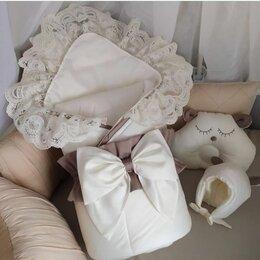 Конверты и спальные мешки - Конверт на выписку из роддома с шапочкой, 0
