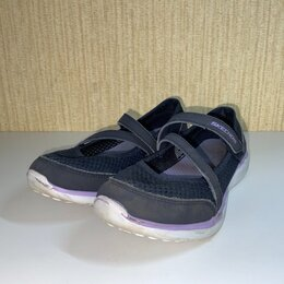 Балетки, туфли - Туфли Skechers для девочки, цвет синий., 0