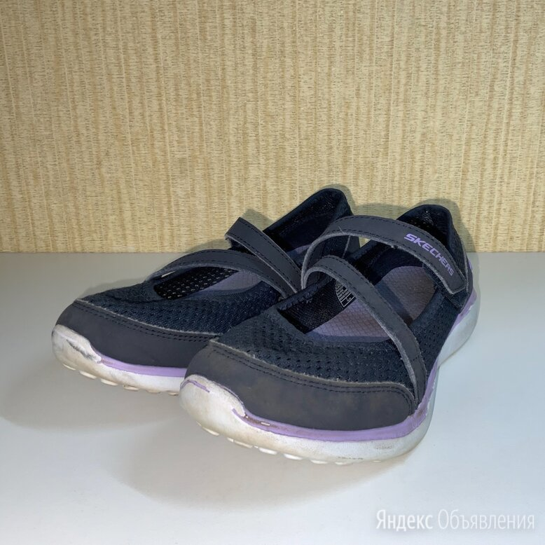 Туфли Skechers для девочки, цвет синий. по цене 500₽ - Балетки, туфли, фото 0