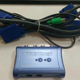 Прочее сетевое оборудование - KVM-Переключатель TRENDnet TK-205, 0