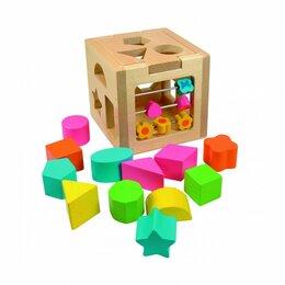 Развивающие игрушки - Развивающие эко игрушки Woody для детей от 2 лет, 0