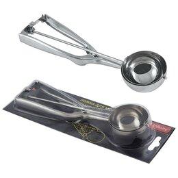 Столовые приборы - Ложка для мороженого механическая, 6см (нерж.сталь) 3880 Mallony, 0