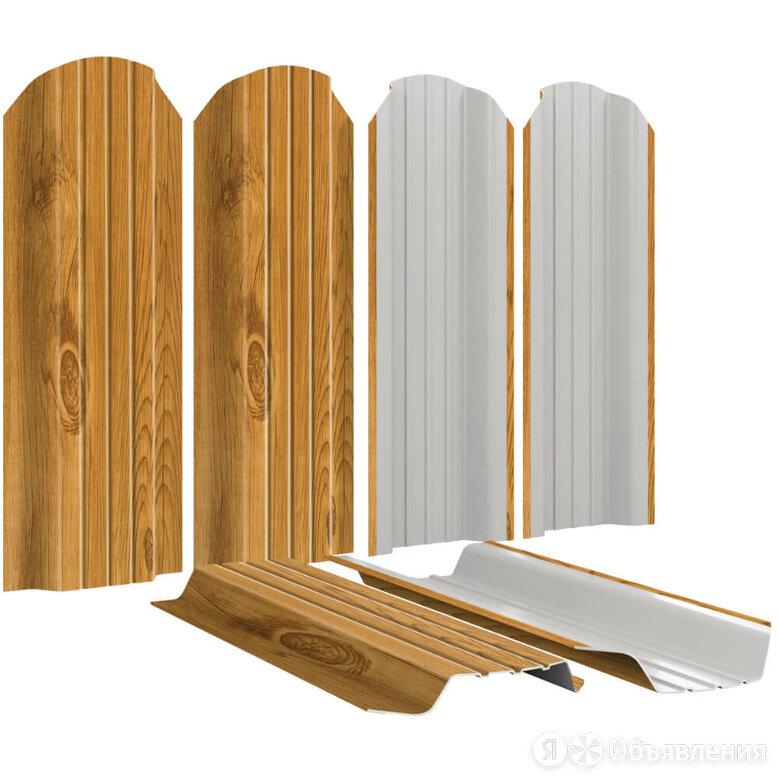 Штакетник металлический Широкий 115мм Золотое Дерево 3D Printech Корея по цене 236₽ - Заборы, ворота и элементы, фото 0