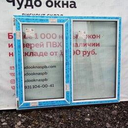 Окна - Окно, ПВХ Whs 60мм, 1140(В)х1370(Ш) мм, 0