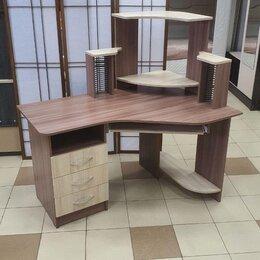 Компьютерные и письменные столы - Компьютерный стол Грета-7🔥, 0