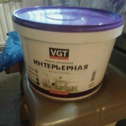Фактурные декоративные покрытия - Краска акриловая vgt вд-ак-1180 фасадная супербелая 15 кг, 0