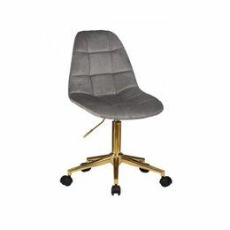 Кресла - Кресло для персонала DIANA 9800G, велюр/золото, 0