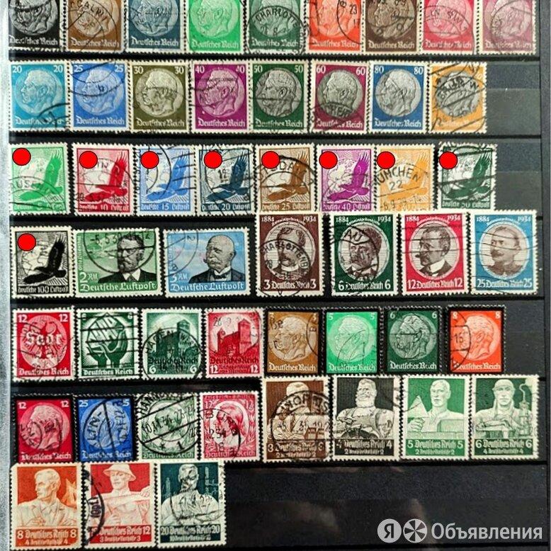 марки годовой набор Германия 3 рейх 1934 год каталог 310 евро по цене 10000₽ - Марки, фото 0