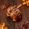 Музыкальный инструмент 'Трещотка' 8х5х5 см по цене 580₽ - Губные гармошки, фото 2