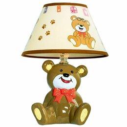Настольные лампы и светильники - Детская настольная лампа D1-39 Brown Gerhort, 0