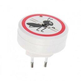 Краны для воды - Отпугиватель муравьев LuazON LRI-20, ультразвуковой, 30 м2, 220 В, белый, 0