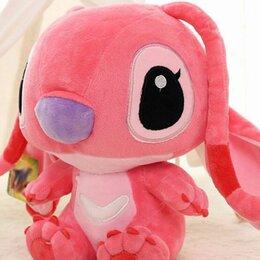 """Мягкие игрушки - Мягкая игрушка """"Стич"""", цвет розовый 30см, 0"""