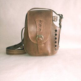 Сумки - Необычные кожаные сумки через плечо, 0