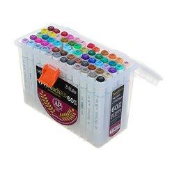 Рисование - Superior Набор маркеров Superior, профессиональные, двусторонние, наконечник ..., 0