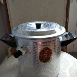 Кастрюли и ковши - Кастрюля для кипячения молока со свистком советские, 0