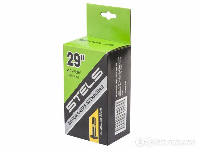 Велокамера STELS 29x1.75/2.10 автовентиль, в индивидульной упаковке по цене 310₽ - Покрышки и камеры, фото 0