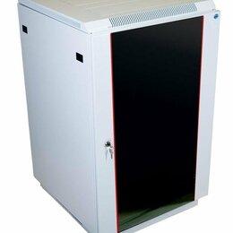 Прочее сетевое оборудование - ЦМО ШТК-М-18.6.6-1aaa Шкаф телеком. напольный 18u (600x600) дверь стекло (2 к..., 0