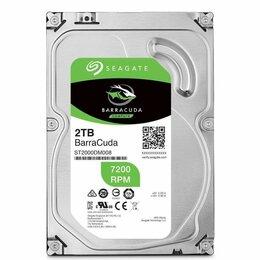 Жёсткие диски и SSD - Диск Seagate BarraCuda на 2Тб, 0