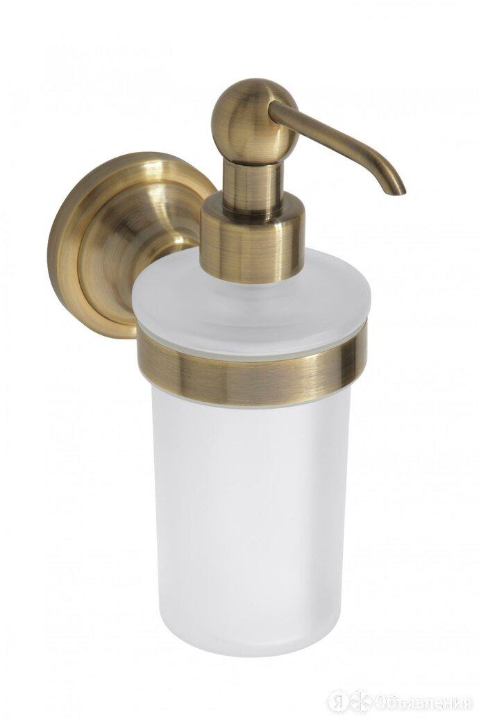 Дозатор мыла Bemeta RETRO - бронза 144109017 по цене 6315₽ - Мыльницы, стаканы и дозаторы, фото 0