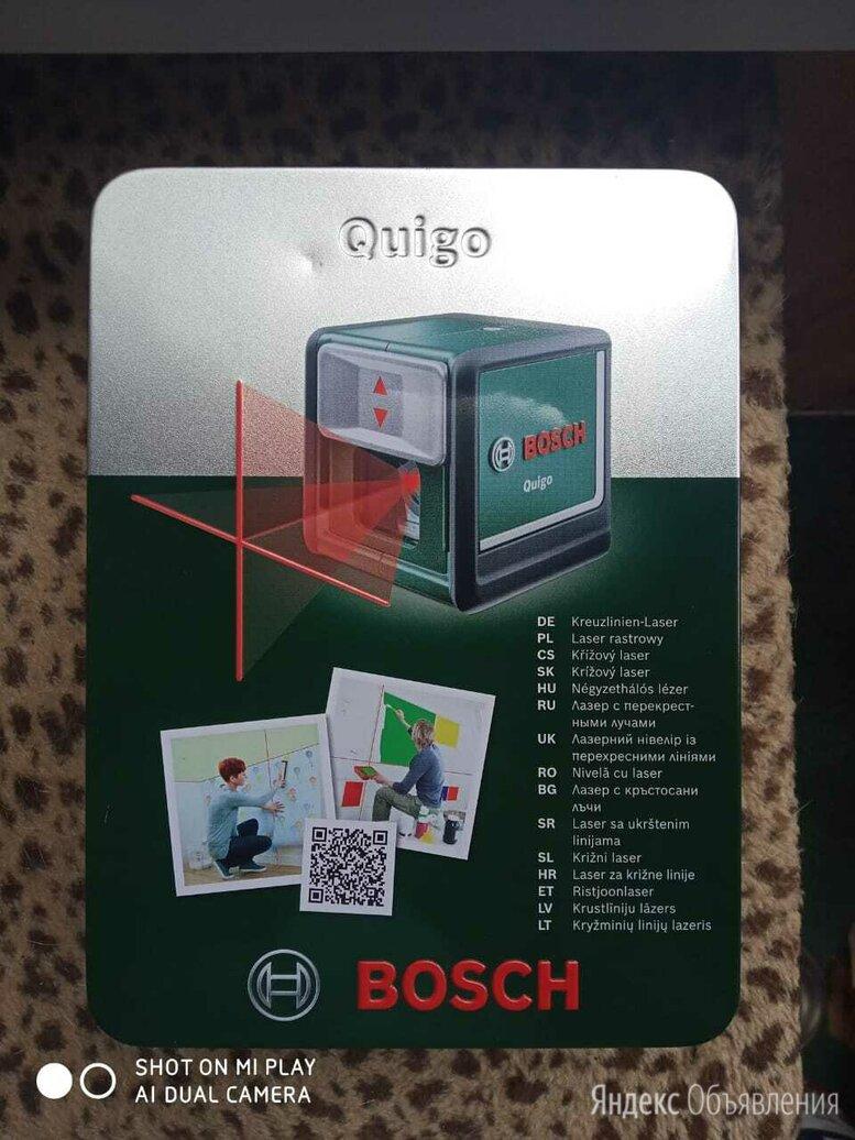 Лазерный уровень BOSCH Quigo по цене 1500₽ - Измерительные инструменты и приборы, фото 0