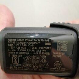 Аккумуляторы и зарядные устройства - Аккумулятор bosch 12В, 0