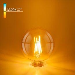 Лампочки - ELEKTROSTANDARD - BLE2704 Филаментная светодиодная лампа G95 6W 3300K E27, 0