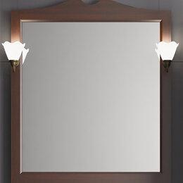 Мебель для кухни - Зеркало КАМА 75,орех антикварный,без светильников, 0
