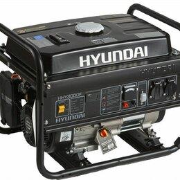 Электрогенераторы - Бензиновый генератор Hyundai HHY 3000F на 3кВт продаю., 0