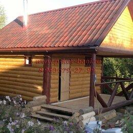 Готовые строения - Сруб бани 6х6+2 терраса из бревна, 0