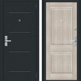 Входные двери - Входная дверь Нео Муар антрацит Cappuccino Veralinga, 0