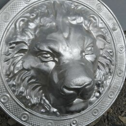 Декоративные фонтаны и панели - Декоративный элемент кованая голова льва, 0